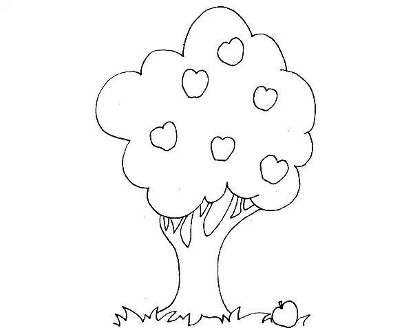 Dibujos Para Colorear De Arboles Frutales: 爸爸妈妈和我的简笔画-爸爸妈妈和宝贝简笔画-简笔画爸爸妈妈头像-爸爸妈妈简笔画怎么画-爸爸妈妈和我的图画